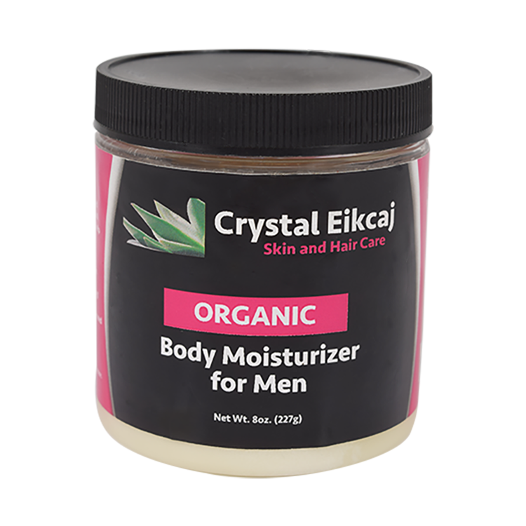 Organic Body Moisturizer for Men