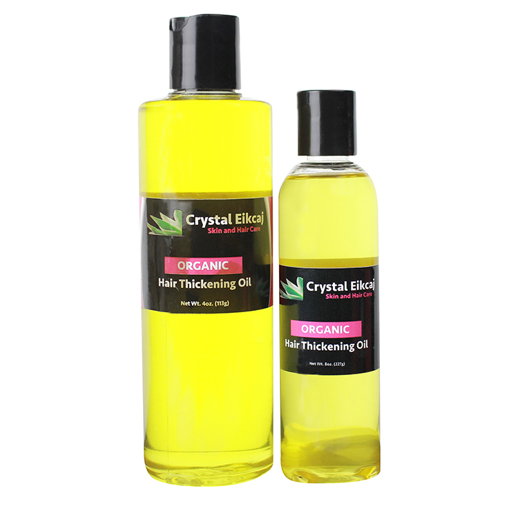 Organic Hair Thickening Oil